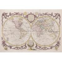 Harita Duvar Posteri N-1225