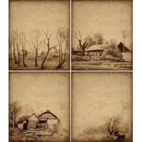Karakalem Duvar Posteri 62912197