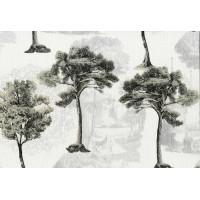 Nadia 9704-2 Soluk Ağaçlar İthal Duvar Kağıdı