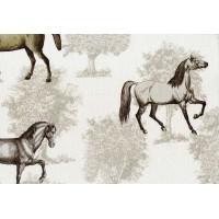 Nadia 9705-1 At Desenli İthal Duvar Kağıdı