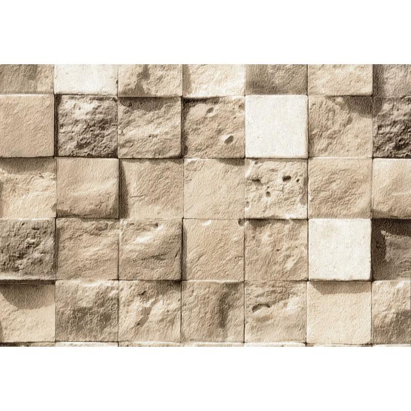 Nadia 9706 3 Üç boyutlu taş desenli duvar kağıdı