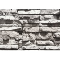 Nadia 9707-1 3D Taş Desenli İthal Duvar Kağıdı