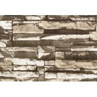 Nadia 9707-3 3D Taş Desen İthal Duvar Kağıdı