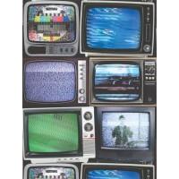 Kaleidoscope J86301 Televizyon Desenli Duvar Kağıdı