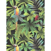 Kaleidoscope J92904 Papağan Desenli Duvar Kağıdı
