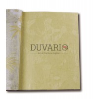 Exclusive 306-1 Kendinden Desenli Düz Duvar Kağıdı