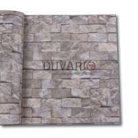 Exclusive 9100 Taş Desenli Duvar Kağıdı 3D