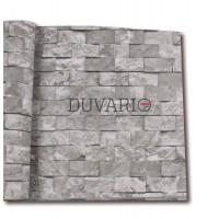 Exclusive 9150 Taş Desenli 3D Duvar Kağıdı