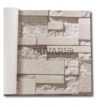 Exclusive 9250 3 Boyutlu Taş Desen Duvar Kağıdı