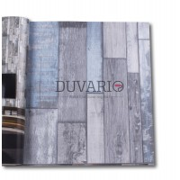 Exclusive 9290 Ahşap Desenli Eskitme Duvar Kağıdı