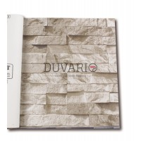 Exclusive 9300 3D Taş Desen Duvar Kağıdı